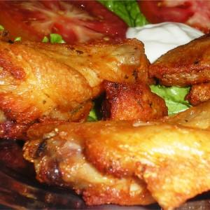 porção de frango